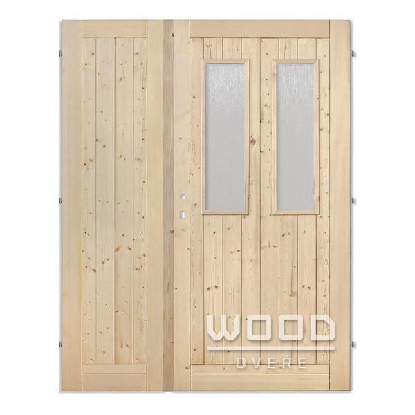 Palubkové dveře dvoukřídlé 145 cm 2...