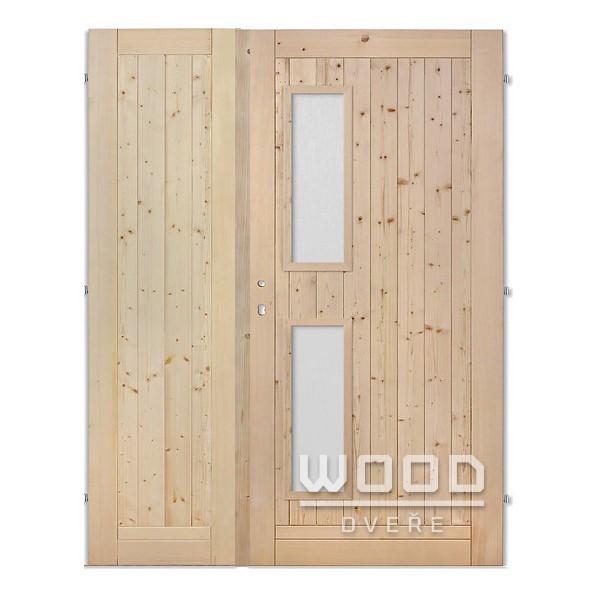 Palubkové dveře dvoukřídlé 160 cm V...