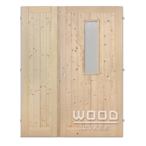 Palubkové dveře dvoukřídlé 160 cm s...