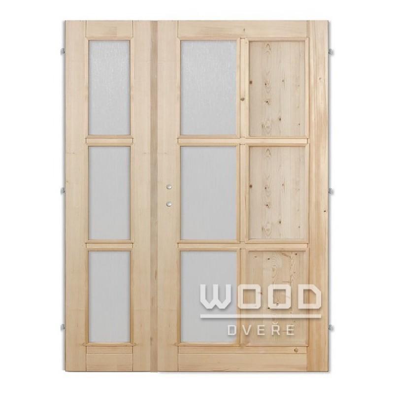 Interiérové dveře dvoukřídlé 145 cm Jasmína H/A