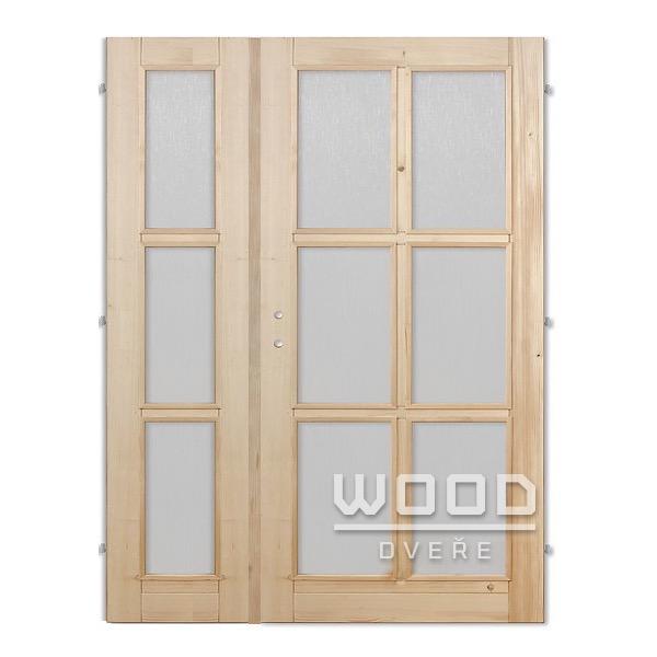 Interiérové dveře dvoukřídlé 145 cm...