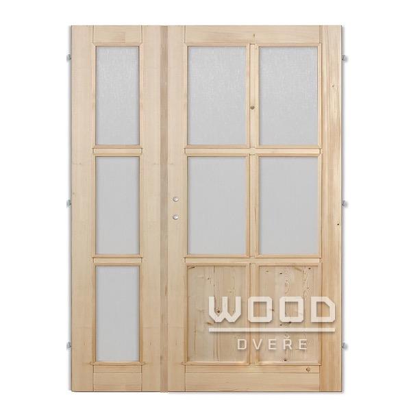 Interiérové dveře dvoukřídlé 125 cm...