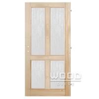 Interiérové dveře Froma 4x sklo