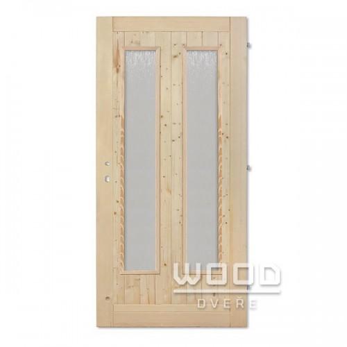 Palubkové dveře sklo dlouhé Duo