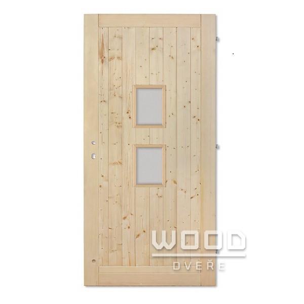 Palubkové dveře Sharon