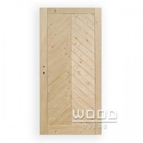 Palubkové dveře stromečkové plné