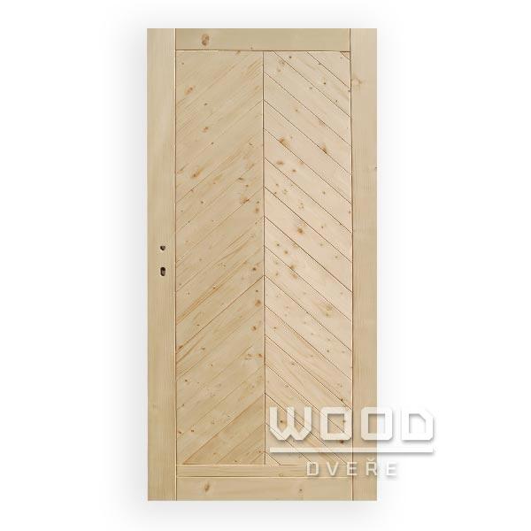 Palubkové dveře stromečkové plné...