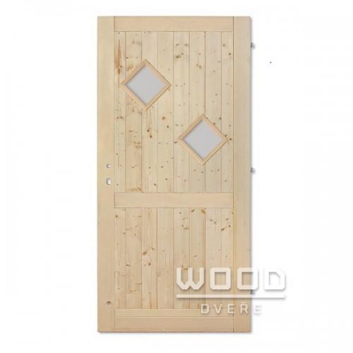 Palubkové dveře Karo B