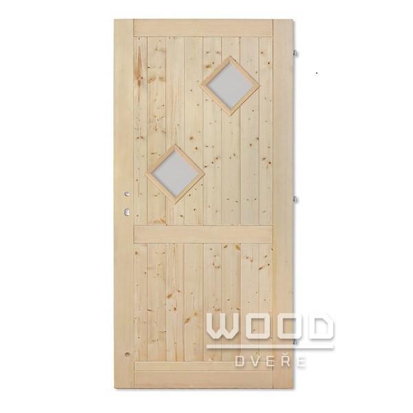 Palubkové dveře Karo A