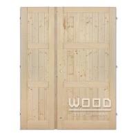 Palubkové dveře dvoukřídlé 125 cm D...