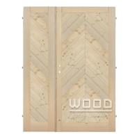 Palubkové dveře dvoukřídlé 125 cm š...