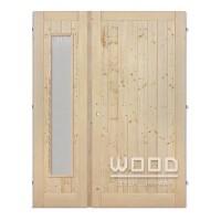 Palubkové dveře dvoukřídlé 125 cm s...