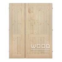 Palubkové dveře dvoukřídlé 125 cm p...