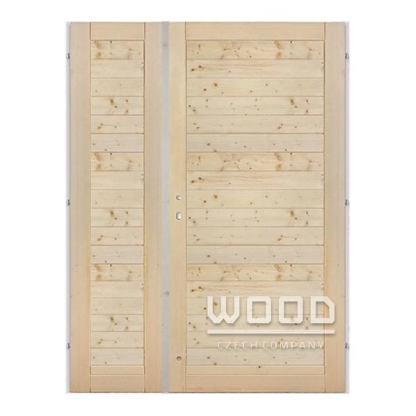 Palubkové dveře dvoukřídlé 145 cm v...