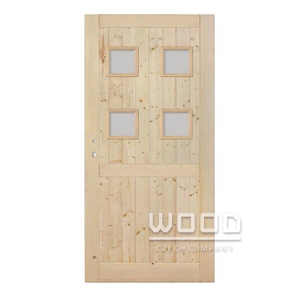 Palubkové dveře Quatro s příčkou...