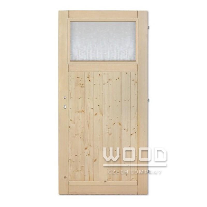 Palubkové dveře sklo Andron