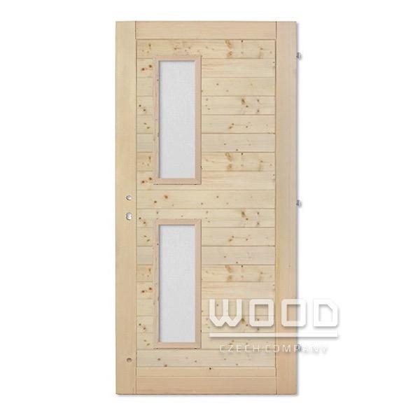 Palubkové dveře Vertikal vodorovné...