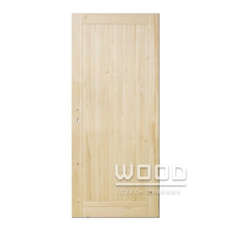 Palubkové dveře plné Slim